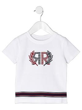 river-island-mini-mini-boys-ri-pique-t-shirt-white
