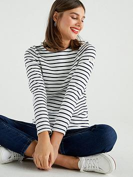 joules-striped-harbour-top
