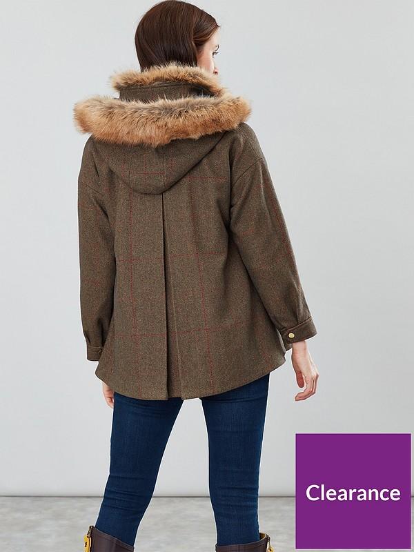 Joules Carolyn Swing Coat: Amazon.co.uk: Clothing