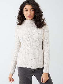 Joules Joules Jamie Cable Knit Jumper - Cream Picture