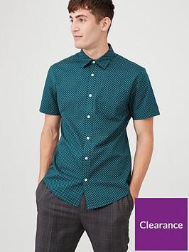v-by-very-floret-print-shirt-teal