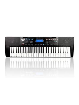 RockJam Rockjam Rockjam Rj461Ax Full Size 61 Key Keyboard With Built In Alexa