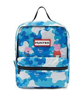 hunter-kids-peppa-pig-muddy-puddles-backpack-blue