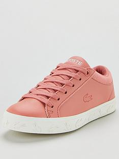 lacoste-straightset-319-4-junior-trainers-pinkwhite