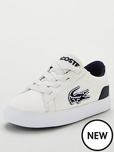 lacoste-infant-lerond-319-2-trainers-whitenavy