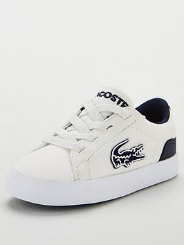 lacoste-infant-lerond-319-2-trainers-whitenavy
