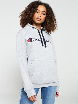 champion-boyfriend-hooded-sweatshirt-grey-marl