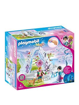 PLAYMOBIL Playmobil Playmobil 9471 Magic Crystal Gate To The Winter World Picture