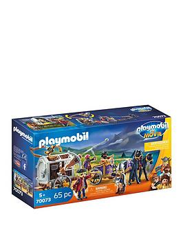 PLAYMOBIL Playmobil 70073 The Movie Prison Wagon Picture