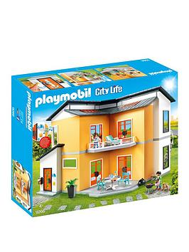 playmobil-playmobil-9266-city-life-modern-house-with-working-doorbell
