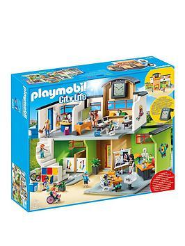 playmobil-playmobil-9453-city-life-furnished-school-building-with-digital-clock
