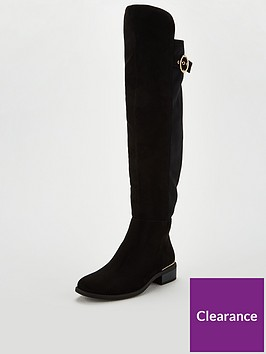 v-by-very-lara-stretch-back-flat-metal-trim-over-the-knee-boot