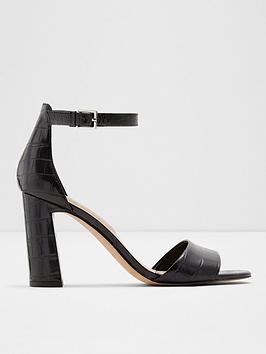ALDO Aldo Uniolia Heeled Sandal - Black Picture