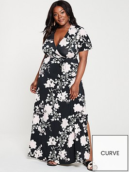 v-by-very-curve-wrap-floral-maxi-dress-print