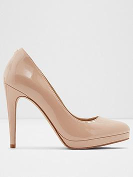 ALDO Aldo Ibaoni Heeled Platform Shoes - Nude Picture