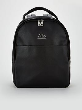 armani-exchange-leather-back-pack