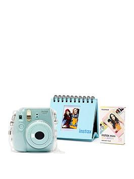 Fujifilm Instax Fujifilm Instax Mini 9 Camera Kit With 10X Macaron Film,  ... Picture