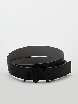 Armani Exchange   Ax Buckle Leather Belt