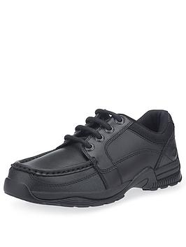 Start-Rite Start-Rite Boys Dylan School Shoes - Black Leather Picture