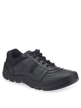Start-Rite Start-Rite Boys Rhino Sherman School Shoes - Black Picture