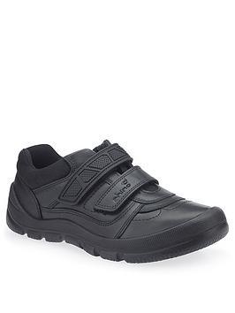 Start-Rite Start-Rite Boys Rhino Warrior School Shoes - Black Picture