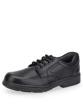 Start-Rite  Boys Isaac School Shoes - Black Leather