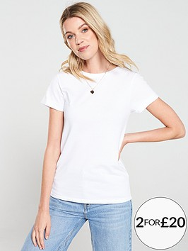 v-by-very-the-essential-rolled-sleeve-t-shirt-white