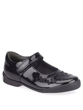 Start-Rite Start-Rite Hopscotch School Shoes - Black Patent Picture