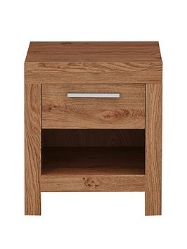 Very  Cuba 1 Drawer Bedside Chest