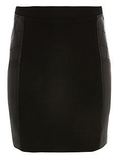 river-island-girls-black-ponte-skirt