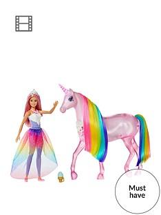 barbie-dreamtopianbspmagical-lights-unicorn-with-princess-doll