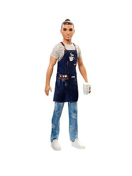 Barbie   Career Ken Barista