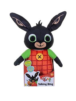 Bing   Huggable Talking  Soft Toy