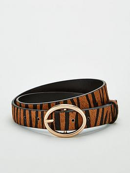 warehouse-tiger-print-belt