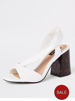 river-island-river-island-wide-fit-cross-strap-block-heel-sandals-white