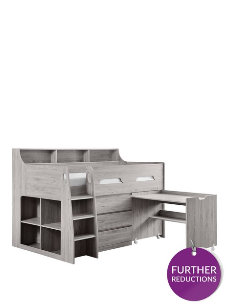 julian-bowen-noah-midsleeper-bed-with-storage-and-desk-white-or-grey