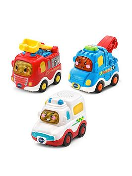 Vtech Vtech Vtech Toot Toot Drivers 3 Car Pack - Emergency Vehicles Picture