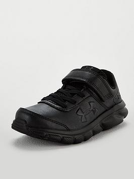 Under Armour Under Armour Assert 8 Childrens Trainers - Black Picture