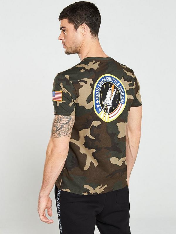 new product 7ea39 69de3 NASA Space Shuttle Camouflage T-Shirt - Camo