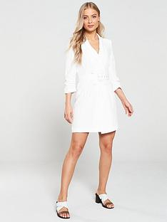 river-island-belted-tux-dress-white