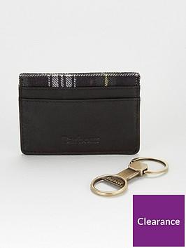 barbour-keyring-amp-card-holder-gift-set