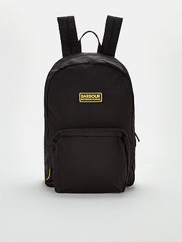 barbour-international-ripstop-backpack-black