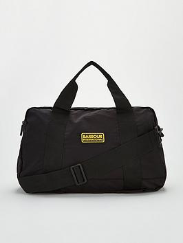 barbour-international-ripstop-utility-holdall-black