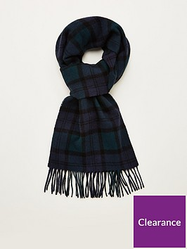 barbour-tartan-lambswool-scarf-black