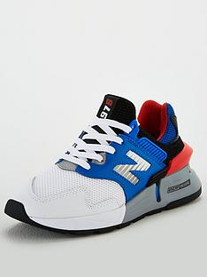 new-balance-997-junior-trainers-bluewhiteorange