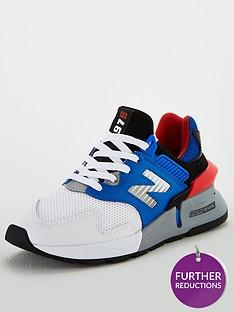 new-balance-997-junior-trainers-bluewhiteorange