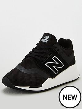 new-balance-247-childrens-trainers-blackwhite