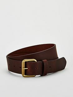 barbour-matte-leather-belt-brownnbsp