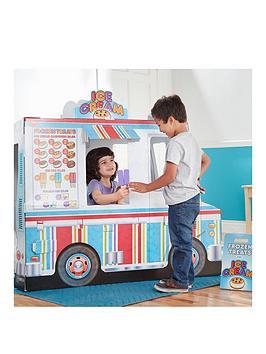Melissa & Doug Melissa & Doug Food Truck Indoor Playhouse Picture