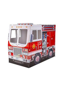 Melissa & Doug Melissa & Doug Fire Truck Indoor Playhouse Picture